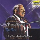OSCAR PETERSON Saturday Night At The Blue Note album cover