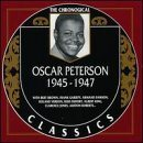 OSCAR PETERSON The Chronological Classics: Oscar Peterson 1945-1947 album cover