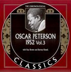 OSCAR PETERSON The Chronological Classics: Oscar Peterson 1952, Volume 3 album cover