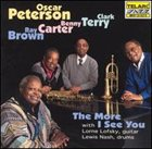 OSCAR PETERSON The More I See You album cover