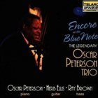 OSCAR PETERSON The Oscar Peterson Trio ‎: Encore At The Blue Note album cover