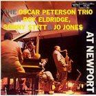 OSCAR PETERSON The Oscar Peterson Trio With Roy Eldridge / Sonny Stitt & Jo Jones : At Newport album cover