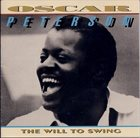 OSCAR PETERSON The Will to Swing album cover