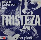 OSCAR PETERSON Tristeza on Piano album cover