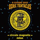 OZRIC TENTACLES Live In Milan 2012 album cover
