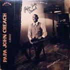 PAPA JOHN CREACH Papa John Creach & Zulu :  Playing My Fiddle For You album cover