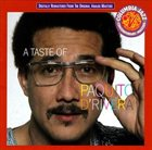 PAQUITO D'RIVERA A Taste Of album cover