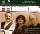 PAQUITO D'RIVERA Musica de dos mundos - Music From Two Worlds album cover
