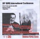 PAQUITO D'RIVERA Paquito D'Rivera & Andrea Merenzon : 29th IDRS International Conference album cover
