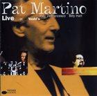 PAT MARTINO Live at Yoshi's album cover
