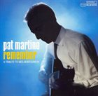 PAT MARTINO Remember: A Tribute to Wes Montgomery album cover