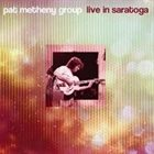 PAT METHENY Live In Saratoga album cover
