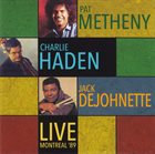 PAT METHENY Live Montreal '89 album cover