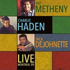 PAT METHENY Live: Montreal '89 album cover