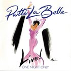 PATTI LABELLE Live! One Night Only album cover