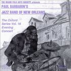 PAUL BARBARIN Paul Barbarin's Jazz Band Of New Orleans album cover