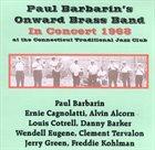 PAUL BARBARIN Paul Barbarin's Onward Brass Band In Concert 1968 album cover