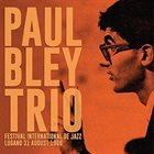 PAUL BLEY Festival International De Jazz Lugano 31 August 1966 album cover