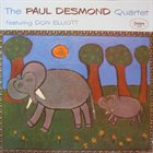 PAUL DESMOND Featuring Don Elliott album cover