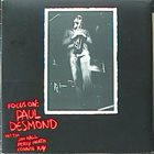 PAUL DESMOND Focus On (aka That's Jazz: Paul Desmond, Jim Hall, Percy Heath, Connie Kay) album cover