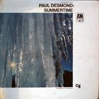 PAUL DESMOND Summertime album cover