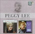 PEGGY LEE (VOCALS) In Love Again! / In the Name of Love album cover