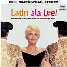 PEGGY LEE (VOCALS) Latin ala Lee! album cover