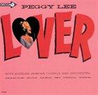 PEGGY LEE (VOCALS) Lover album cover