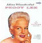 PEGGY LEE (VOCALS) Miss Wonderful album cover