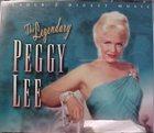 PEGGY LEE (VOCALS) The Legendary Peggy Lee album cover