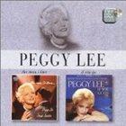 PEGGY LEE (VOCALS) The Man I Love / If You Go album cover