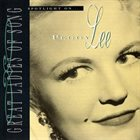 PEGGY LEE (VOCALS) Great Ladies of Song Spotlight on ... Peggy Lee album cover