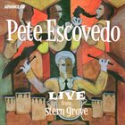 PETE ESCOVEDO Live from Stern Grove album cover