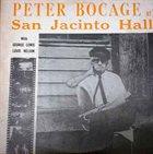 PETER BOCAGE At San Jacinto Hall album cover