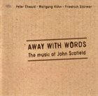 PETER EHWALD Away With Words album cover
