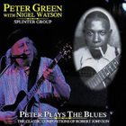 PETER GREEN Peter Plays The Blues The Classic Compositions Of Robert Johnson album cover