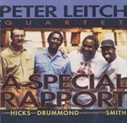 PETER LEITCH A Special Rapport album cover