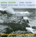 PETER LEITCH California Concert album cover