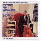 PETER LEITCH Portraits and Dedications album cover