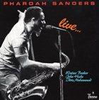PHAROAH SANDERS Live album cover