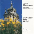 PINO MINAFRA Pino Minafra & The December Thirty Jazz Trio : Concert For Ibla album cover