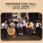 PRESERVATION HALL JAZZ BAND New Orleans, Volume IV album cover