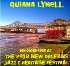 QUIANA LYNELL Live at 2018 New Orleans Jazz & Heritage Festival album cover
