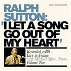 RALPH SUTTON I Let A Song Go Out Of My Heart album cover