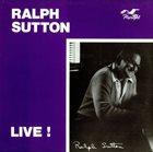 RALPH SUTTON Live album cover