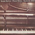 RALPH SUTTON Piano Solos album cover
