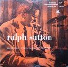 RALPH SUTTON Piano Solos In The Classic Jazz Tradition album cover