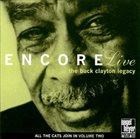 RANDY SANDKE Encore Live. The Buck Clayton Legacy album cover