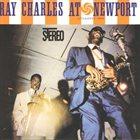 RAY CHARLES Ray Charles at Newport album cover