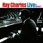 RAY CHARLES Ray Charles Live in Concert album cover